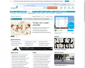 Internet Explorer zonder tabbladen en adresbalk