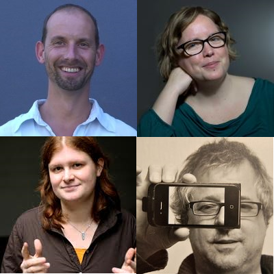 Nils Roemen, Katja Linders, Janne Willems, Guido Crolla